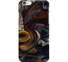 Black Cat Jazz iPhone Case/Skin