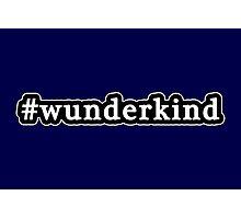 Wunderkind - Hashtag - Black & White Photographic Print