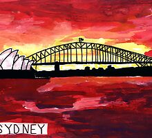 Sydney Sunset by John Douglas