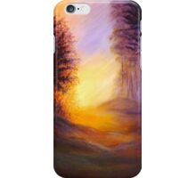 Colors of the morning light iPhone Case/Skin