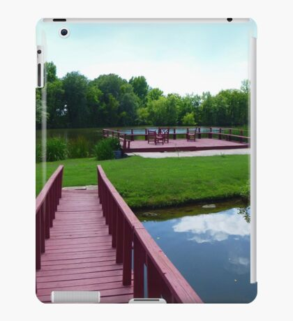 Tranquil Pond iPad Case/Skin