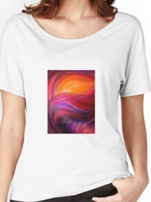 Fire Eye is watching Women's Relaxed Fit T-Shirt