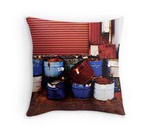 Dirty Drum Throw Pillow