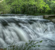 Kahuna Falls, Tennessee by James Hoffman