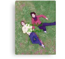 Meredith Grey and Cristina Yang Canvas Print