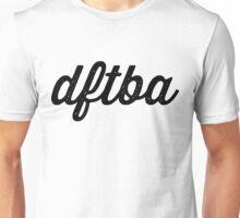 DFTBA (textured) Unisex T-Shirt
