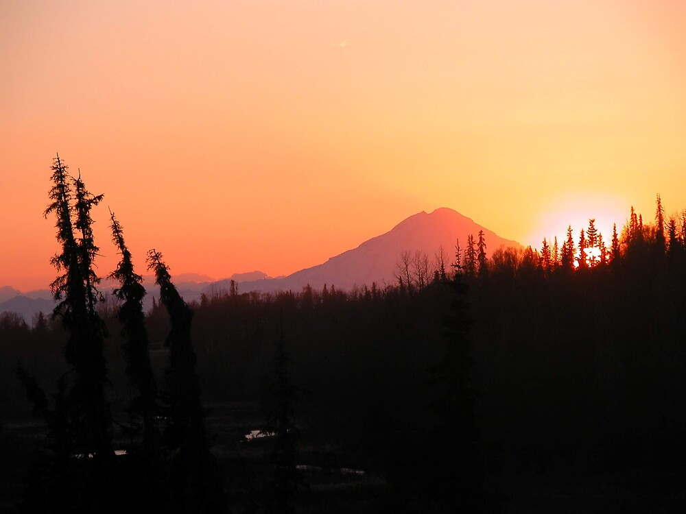 Mt. Redoubt by SunnyDay