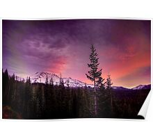 A New Day in the Cascades. Poster