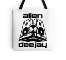 Alien Deejay Logo Tote Bag
