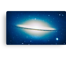 The little Galaxy (Majestic Sombrero Galaxy) Canvas Print