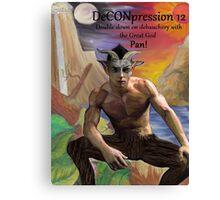 DeCONpression 12 Pan Double Down Canvas Print