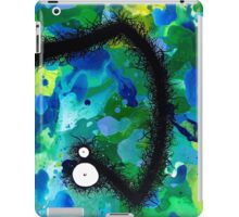 The Creatures From The Drain painting 42 iPad Case/Skin