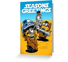 Despicable Jawas - Seasons Greetings Card Greeting Card