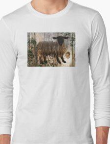wooden sheep Long Sleeve T-Shirt