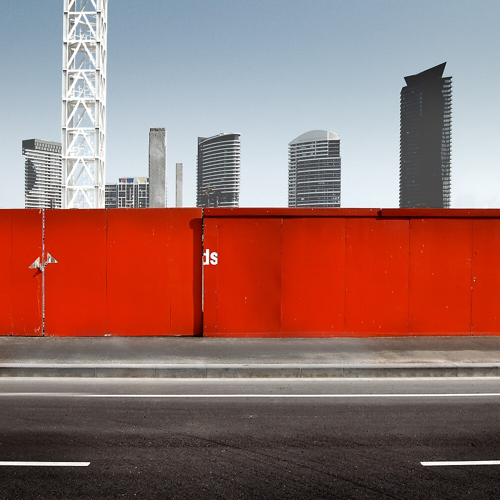 Red Wall by L B