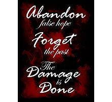 Alice Madness Returns: The Damage Is Done Photographic Print
