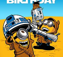 Despicable Jawas - Birthday Card by DJKopet