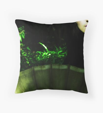 *Green* Throw Pillow