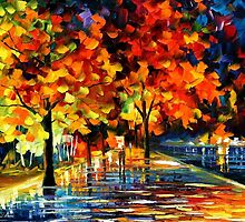 Rivershore Park — Buy Now Link - www.etsy.com/listing/168328192 by Leonid  Afremov