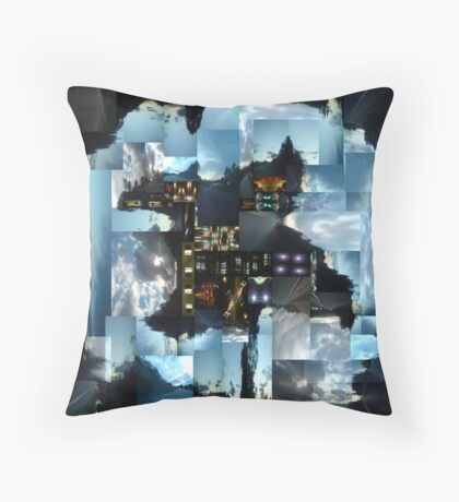 forgotten lies and troubled highs Throw Pillow