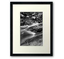 McKensie Falls Framed Print