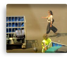 The Baggage Handlers Metal Print