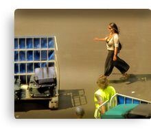 The Baggage Handlers Canvas Print