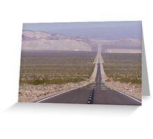 A long road... Greeting Card