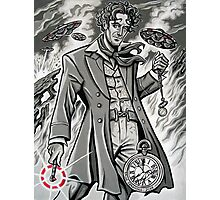 Time War Eighth Doctor Photographic Print