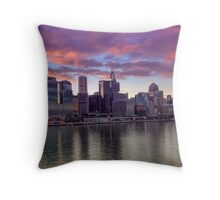 Sydney at Dawn Throw Pillow