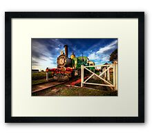 """The Klondyke"" - Queenscliff Framed Print"