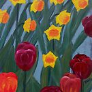 Tulips &amp; daffodils by brendak