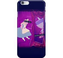 Stuck in Wonderland iPhone Case/Skin