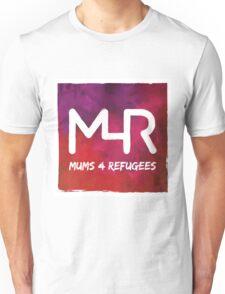 Mums 4 Refugees CMYK logo Unisex T-Shirt