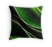Leafy Stack Throw Pillow