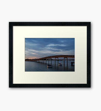 Swan Bay, Queenscliff Framed Print