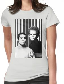Simon & Garfunkel Womens Fitted T-Shirt