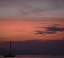 Bali Sunset V by robbie010