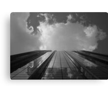 Looking Up v8 - AIG building, Hong Kong Canvas Print