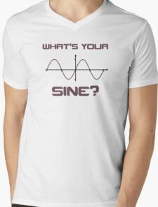 What's Your Sine Nerdy Pick Up Line Mens V-Neck T-Shirt