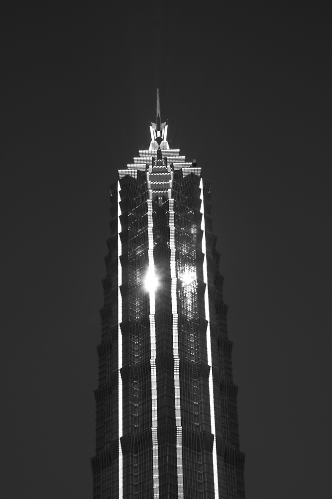 Looking Up v9 - Jin Mao Tower, Shanghai by Jonathan Russell