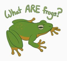What ARE Frogs? (Basic edition) Kids Clothes