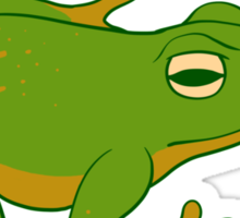 What ARE Frogs? (Basic edition) Sticker
