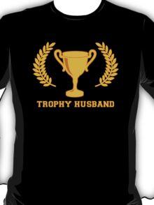Happy Golden Trophy Husband T-Shirt