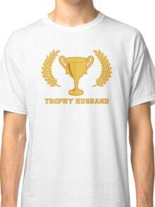 Happy Golden Trophy Husband Classic T-Shirt