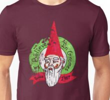 I believe in gnomes- distressed Unisex T-Shirt