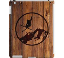 skiing 1 iPad Case/Skin