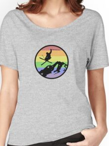 skiing 1 Women's Relaxed Fit T-Shirt