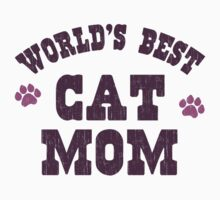 World's Best Cat Mom by TheShirtYurt
