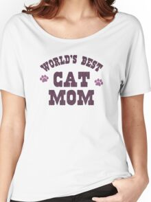 World's Best Cat Mom Women's Relaxed Fit T-Shirt